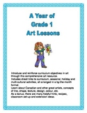 Grade 1 A Year of Art Lessons