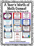 Sixth Grade Math Games Bundle (12 Games for the Price of 10!!)