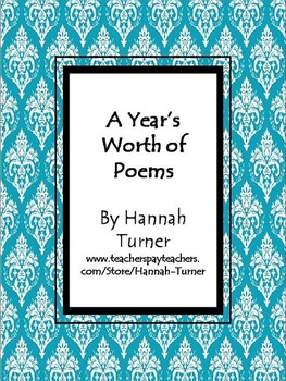A Years Worth of Poems