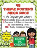 45 Bulletin Boards for Homeschool Preschool
