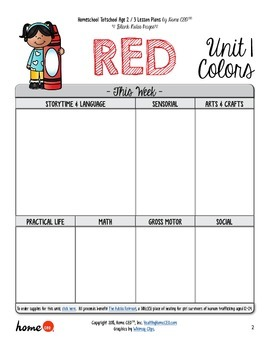 45 Toddler / Preschool Theme Ideas - Planning Sheets (Weekly Style)