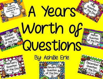 A Years Worth of Questions