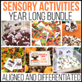 A Year's Worth of  Sensory Table - Sensory Bin Fun: Activities/Task Cards BUNDLE