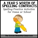 A Year's Worth of Spelling Contracts