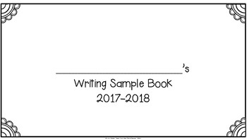 A Year's Worth of Writing Sample Pages