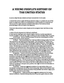 A Young People's History of the United States Study Guide