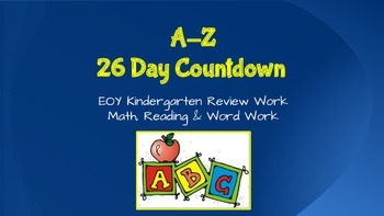 A-Z 26 Day Countdown Review