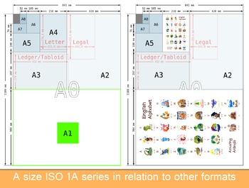 ❤ A-Z ABC amusing animals. English animals alphabet. New Classroom poster