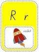 A-Z ALPHABET CLASSROOM DISPLAY - NSW Australian Foundation Font