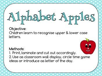 A - Z Alphabet Apples