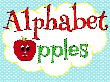 A - Z Alphabet Apples