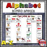 Alphabet Board Games - Letter Sounds