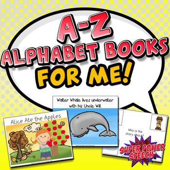 A-Z Alphabet Books for Me!