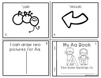 A - Z Alphabet Knowledge Picture Books
