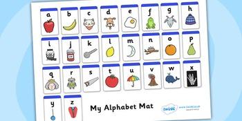 A-Z Alphabet Mat