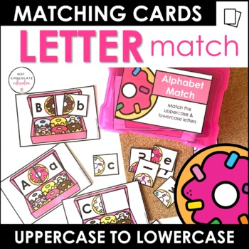 A-Z Alphabet Match - Uppercase and Lowercase Letters