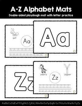 A-Z Alphabet Mats