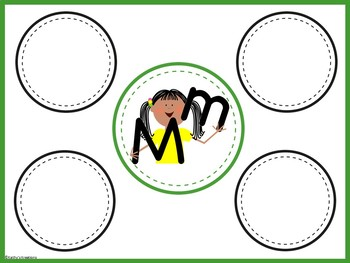 A-Z Alphabet Mats & Beginning Sound Picture Cards BUNDLE