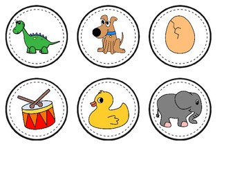 A-Z Alphabet Mats & Beginning Sound Picture Cards (COLOR)