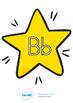 A-Z Alphabet On Stars