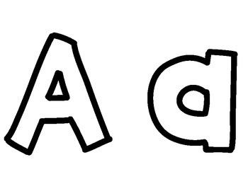 A-Z Alphabet Play-Doh Mats
