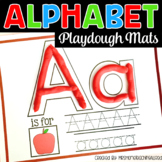 A-Z Alphabet Play Dough Mats / Printable Playdough Mats Fo