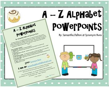 A - Z Alphabet PowerPoints