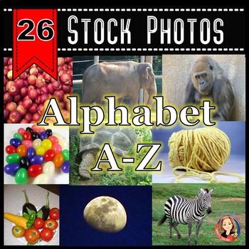 A-Z Alphabet Stock Photos - Photos for Each Letter of the Alphabet