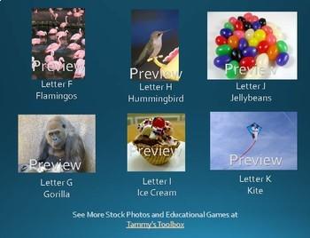 A-Z Alphabet Stock Photos for Each Letter of the Alphabet