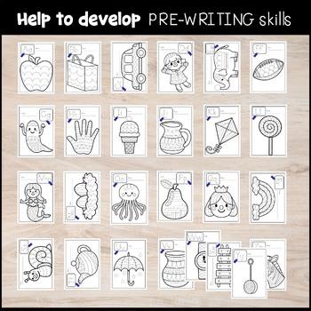 A-Z Alphabet Traces