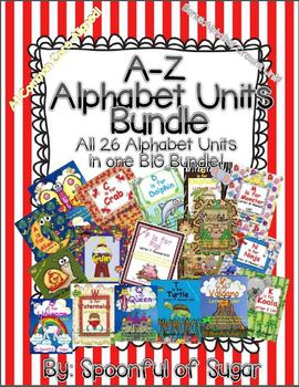 A-Z Alphabet Units Bundle (All 26 ABC Units plus ABC Crowns)
