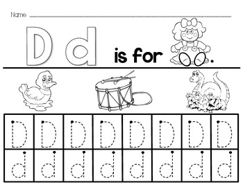 A-Z Alphabet Worksheets