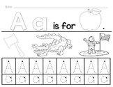 A-Z Alphabet Worksheets