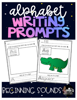 A-Z Alphabet Writing Prompts
