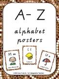 A-Z Alphabet posters