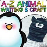 A-Z Animal Craftivities and Writing Prompts {5 crafts and activities per animal}