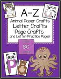 A-Z Animal and Alphabet Letter Crafts BIG Bundle