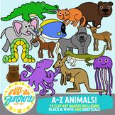 A-Z Animals [Full-On Sunshine Clip Art]