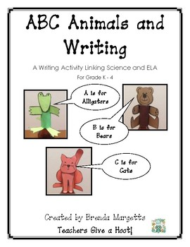 A-Z Animals & Writing: A Writing Activity Linking Science and ELA