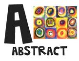A-Z Art Alphabet