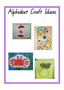 A-Z Art and Craft Ideas