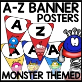 A-Z BANNERS | MONSTER THEMED
