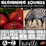 A-Z Beginning Sounds Mega Bundle