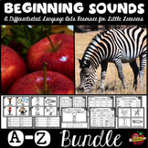 A-Z Beginning Sounds Mega Bundle