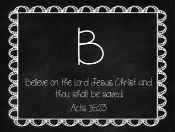 A-Z Bible Verse Cards