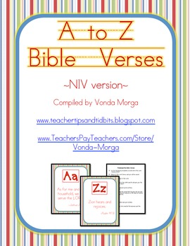 A-Z Bible Verses - New International Version