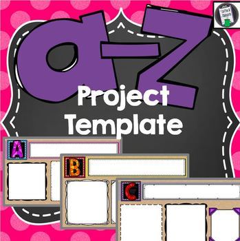 A-Z Blank Project Template