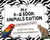 A-Z Book: Animals