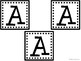 A-Z Book Bin Labels (SQUARES)
