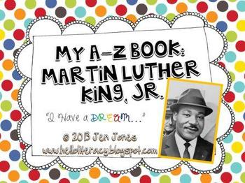 A-Z Book: Martin Luther King, Jr.